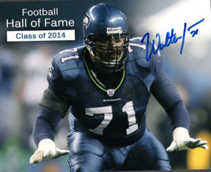 Walteer Jones Seattle Seahawks Signed 8x10 Photo #1 *FREE SHIPPING*