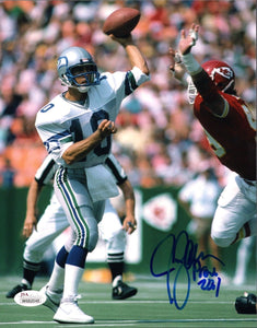 Jim Zorn Seahawks Signed 8x10 Photo #1 *FREE SHIPPING*