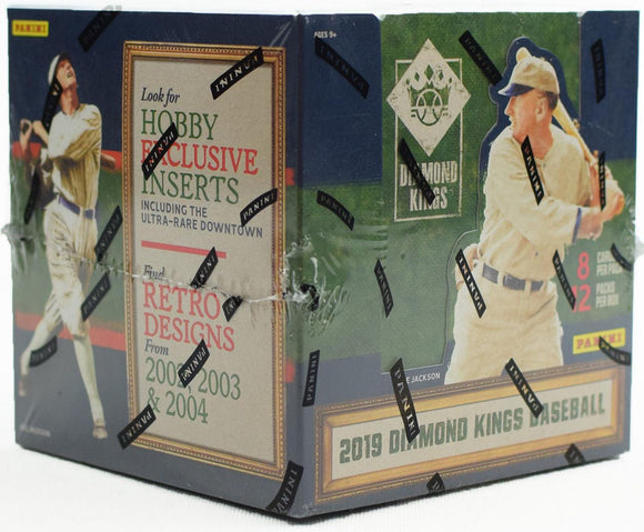2019 Diamond Kings Baseball Hobby Box