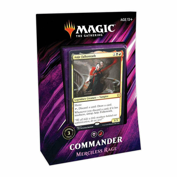 MTG Commander 2019 Merciless Rage Deck