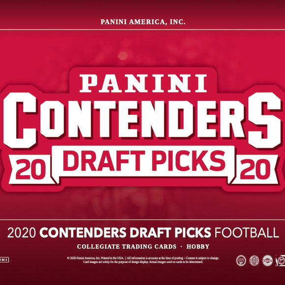 2020 Contenders Draft Picks Football Hobby Box