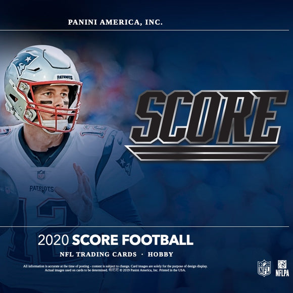 2020 Score NFL Football Hobby Box
