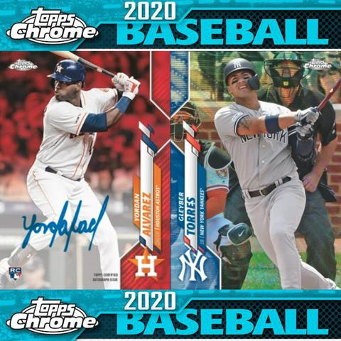 2020 Topps Chrome Baseball Retail Blaster Box