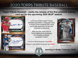2020 Topps Tribute Baseball Hobby Box