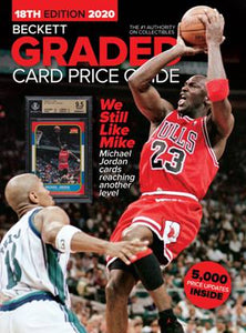 Beckett Graded Card Price Guide #18 w/Michael Jordan Cover Pre-Sell