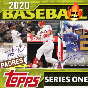 2020 Topps Series 1 One Baseball HTA Jumbo Hobby Box