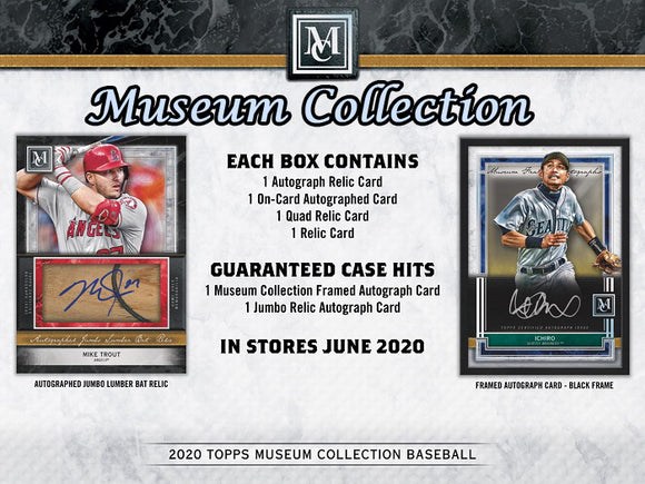 2020 Topps Museum Collection Hobby Box