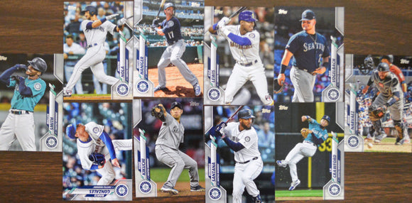 2020 Topps Series 1 One Mariners Baseball Team Set