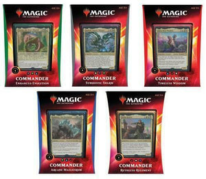 MTG Commander 2020 5 Deck Set  Ikoria