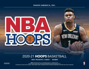 2020-21 Panini Hoops Basketball Hobby Box Pre Order