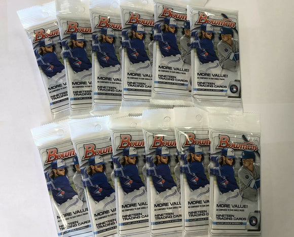 2020 Bowman Baseball Retail Jumbo 19-Card Pack