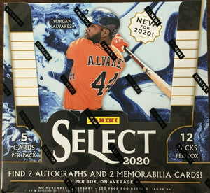 2020 Panini Select Baseball Hobby Box