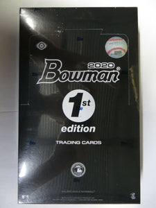 2020 Bowman Baseball 1st Edition Hobby Box 24/10