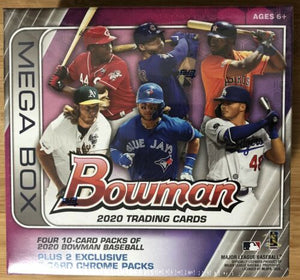 2020 Bowman Baseball Retail Mega Box