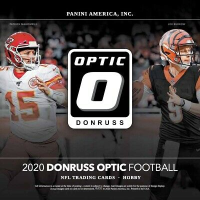 2020 Panini Donruss Optic Football Hobby Box Pre Order