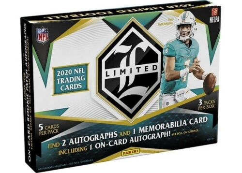 2020 Panini Limited Football Hobby Box Pre Order