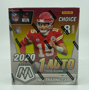 2020 Panini Mosaic Football Choice Box