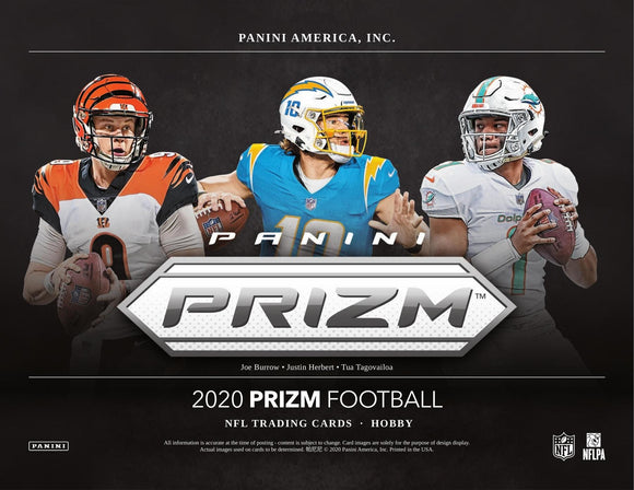 2020 Prizm NFL Football Hobby Box