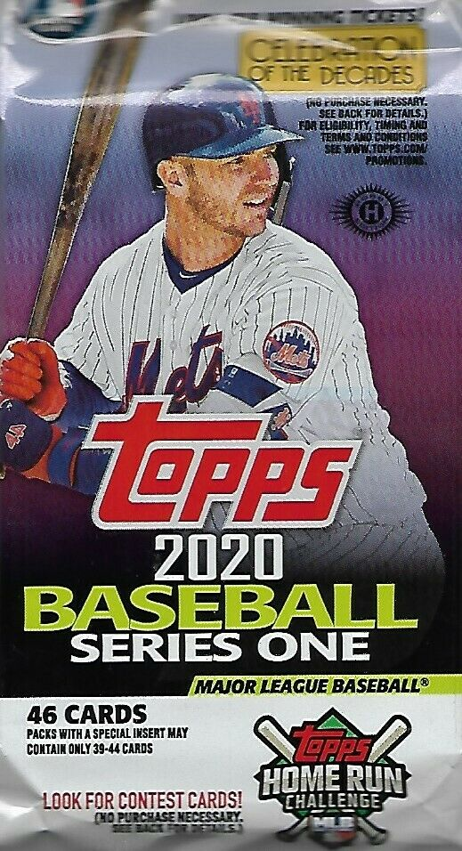 2020 Topps Series 1 One Baseball HTA Jumbo Hobby Pack