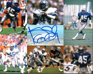 Kenny Easley Seattle Seahawks Signed 8x10 Photo #2   *FREE SHIPPING*