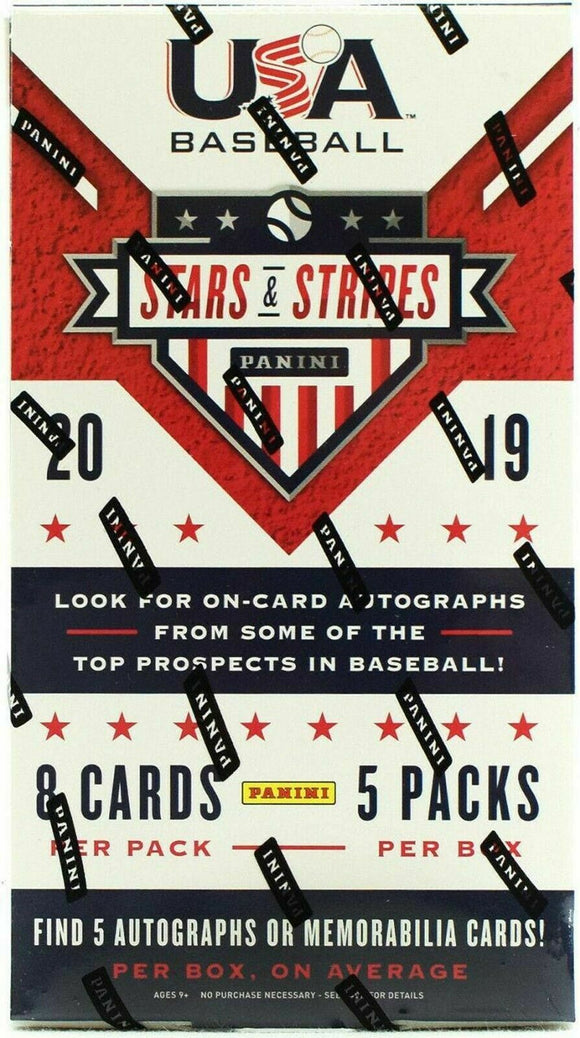 2019 Panini Stars & Stripes Baseball Hobby Box