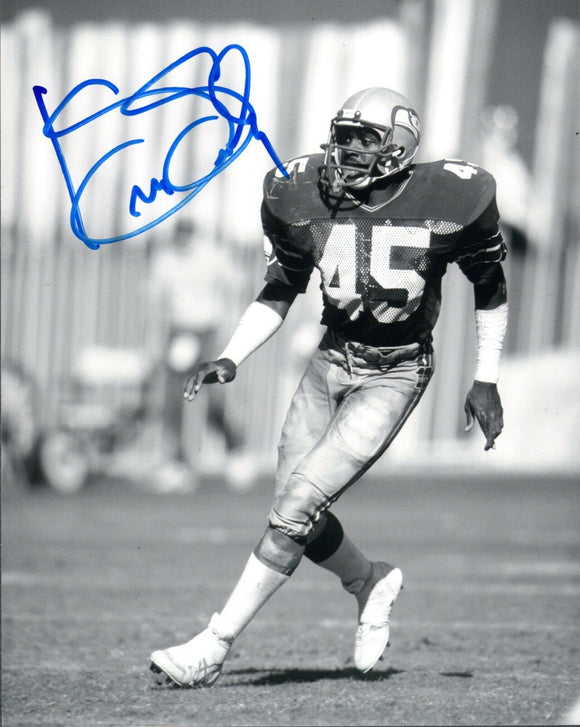 Kenny Easley Seattle Seahawks Signed 8x10 Photo #3  *FREE SHIPPING*