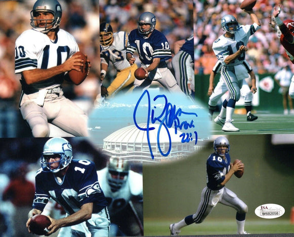 Jim Zorn Seahawks Signed 8x10 Photo #3 *FREE SHIPPING*