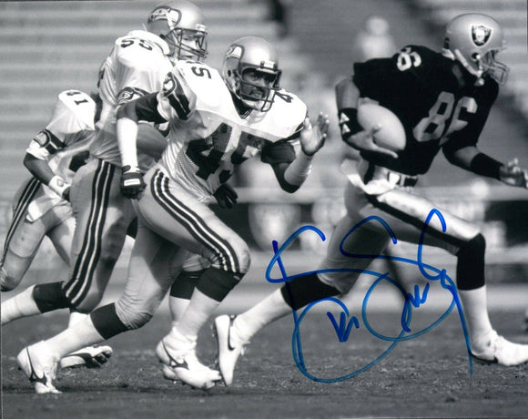Kenny Easley Seattle Seahawks Signed 8x10 Photo #4  *FREE SHIPPING*