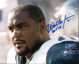 Walter Jones Seattle Seahawks Signed 8x10 Photo #4 *FREE SHIPPING*