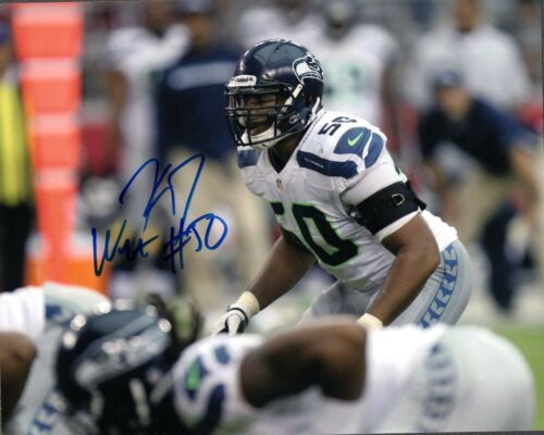 K.J. Wright Seattle Seahawks Signed 8x10 Photo #6  *FREE SHIPPING*