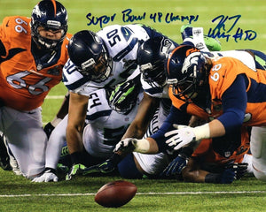 "K.J. Wright Seattle Seahawks Signed 8x10 Photo #7 ""SB 48 Champs"" *FREE SHIPPING*"