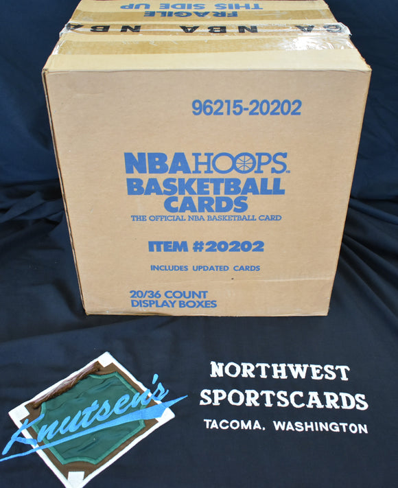 1989-90 Hoops Series 2 Update Basketball 20 Box Case