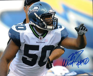 K.J. Wright Seattle Seahawks Signed 8x10 Photo #8 *FREE SHIPPING*