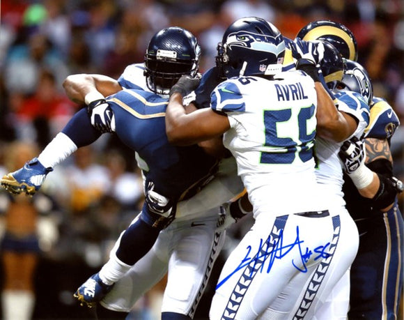 Cliff Avril Autographed 8x10 Photo #2 *FREE SHIPPING*