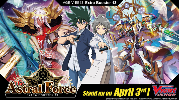 CFV Cardfight Vanguard the Astral Force Extra Booster 13 Box w/12 Packs