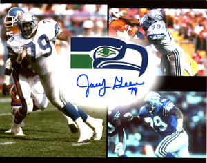 Jacob Green Seattle Seahawks Signed 8x10 Photo C  *FREE SHIPPING*