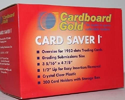 Card Savers I Semi-Rigid Card Holder Package (50) *Perfect for Grading Submissions