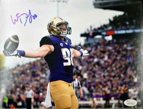 Will Dissly Seahawks & UW Huskies Signed 8x10 Photo#4  JSA COA *FREE SHIPPING*