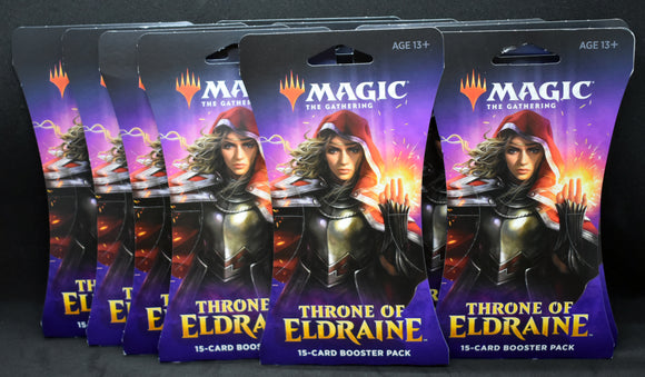 MTG Throne of Eldraine x10 Booster Pack Lot *FREE SHIPPING*