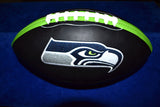 Black Football w/Seahawks Logo Unsigned * NWSC Exclusive