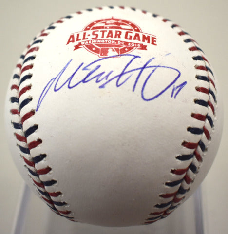 Mitch Haniger Autographed All-Star Baseball JSA/COA *FREE SHIPPING*