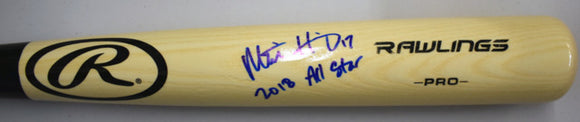 Mitch Haniger Signed Baseball Bat w/ 2018 All Star Inscription JSA *FREE SHIPPING*