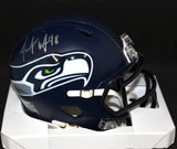 Jacob Hollister Signed Seahawks Speed Mini Helmet w/JSA COA *FREE SHIPPING