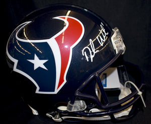 DeShaun Watson Huston Texans Signed Full Size Authentic Helmet  *FREE SHIPPING*