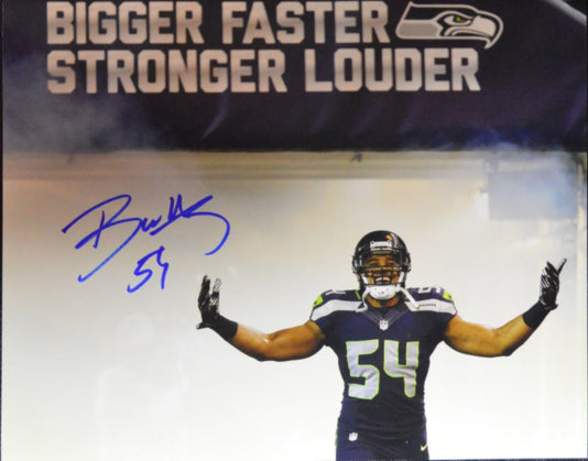 Bobby Wagner Seattle Seahawks Signed 8x10 Photo #4  *FREE SHIPPING*
