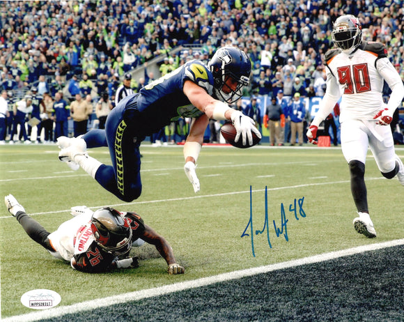 Jacob Hollister Seattle Seahawks Signed 8x10 Photo B  *FREE SHIPPING*