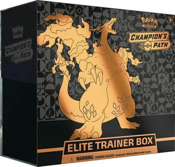 Pokemon Champion's Path Elite Trainer Box Pre Order*