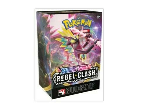 Pokemon Sword & Shield Rebel Clash Pre-Release Kit