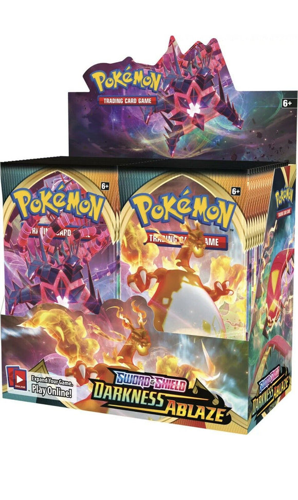 Pokemon Sword & Shield Darkness Ablaze Booster Box