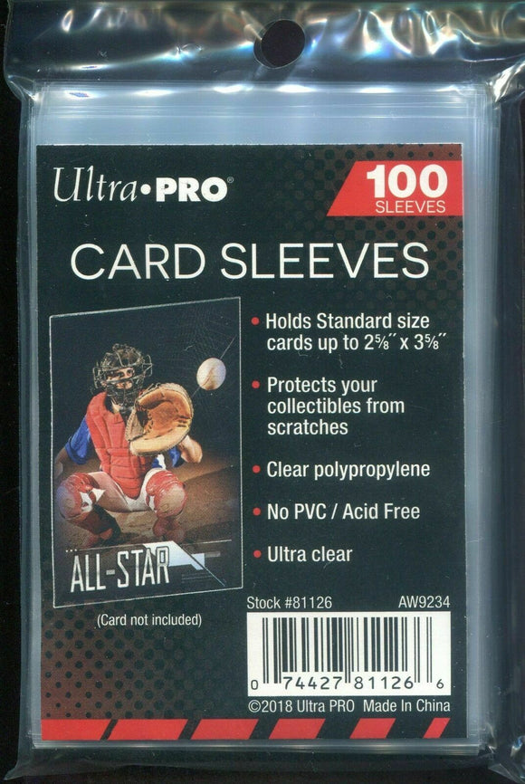 Ultra Pro Soft Sleeves Standard Size Package (100)